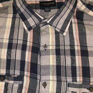 Men's Banana Republic Button Down Shirt Size XL